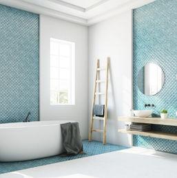 Quel revêtement mural pour une salle de bain humide ?